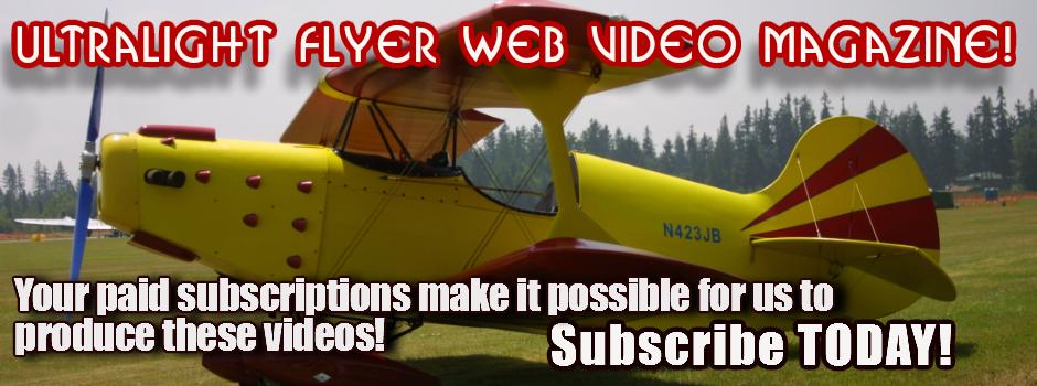 Ultralight Flyer web video Magazine